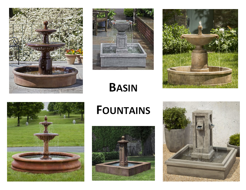 Basin Fountains