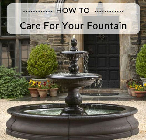 Fountain Maintenance