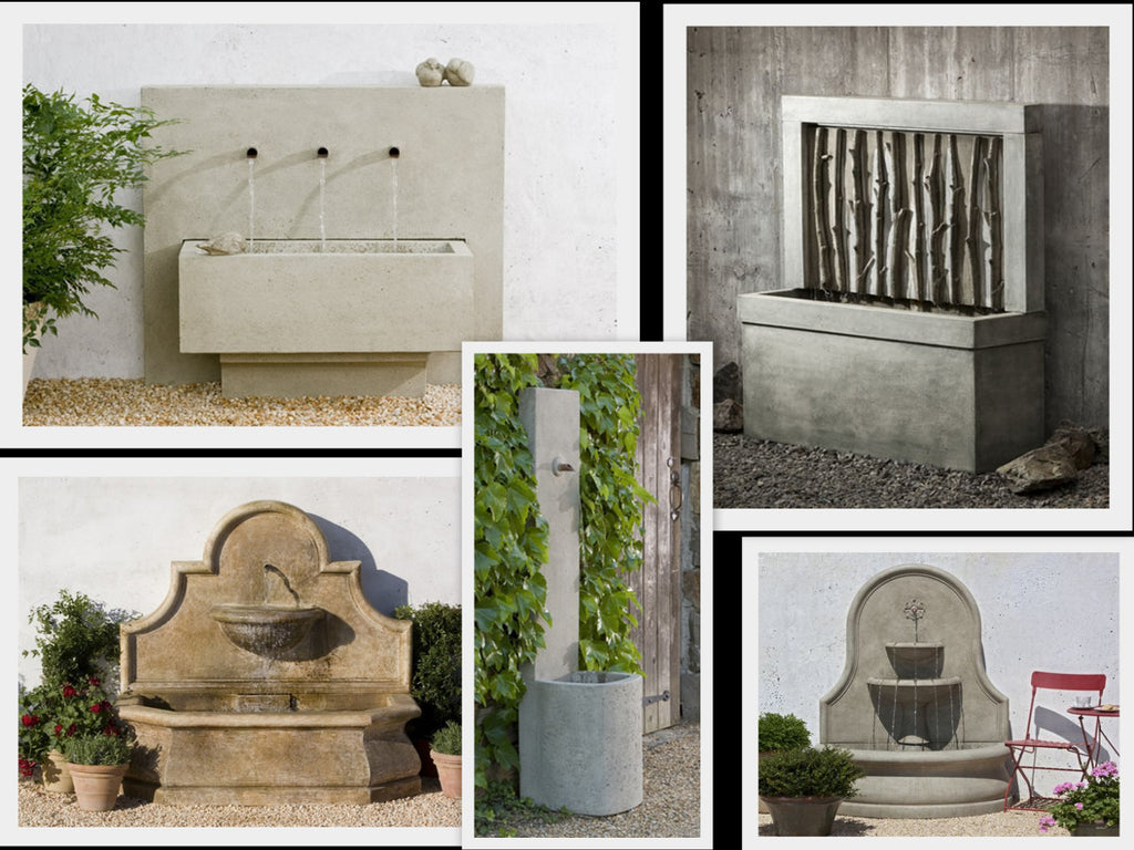 Idea: Campania Wall Fountains