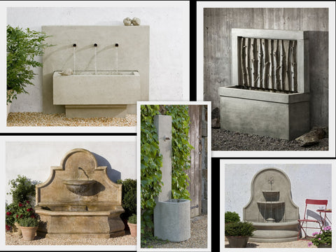 Campania Wall Fountains