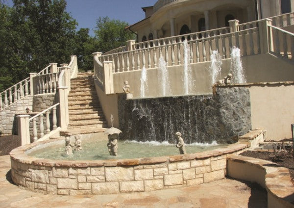 Staircase Fountain