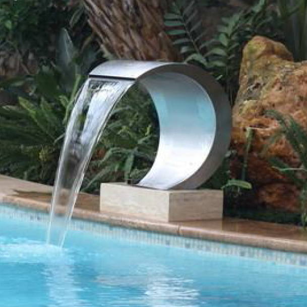 Pearl - Stainless Steel Pool Water Feature