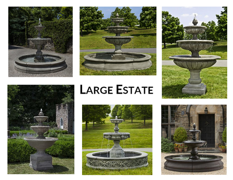 Large Estate Fountains - Marquis Gardens