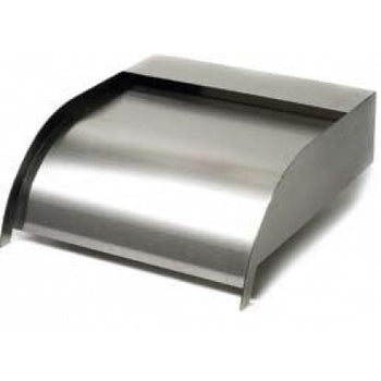 Curved Stainless Steel Sheer Descent - Weir
