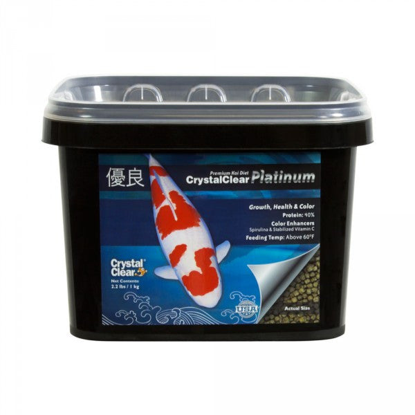 CrystalClear® Platinum Fish Food