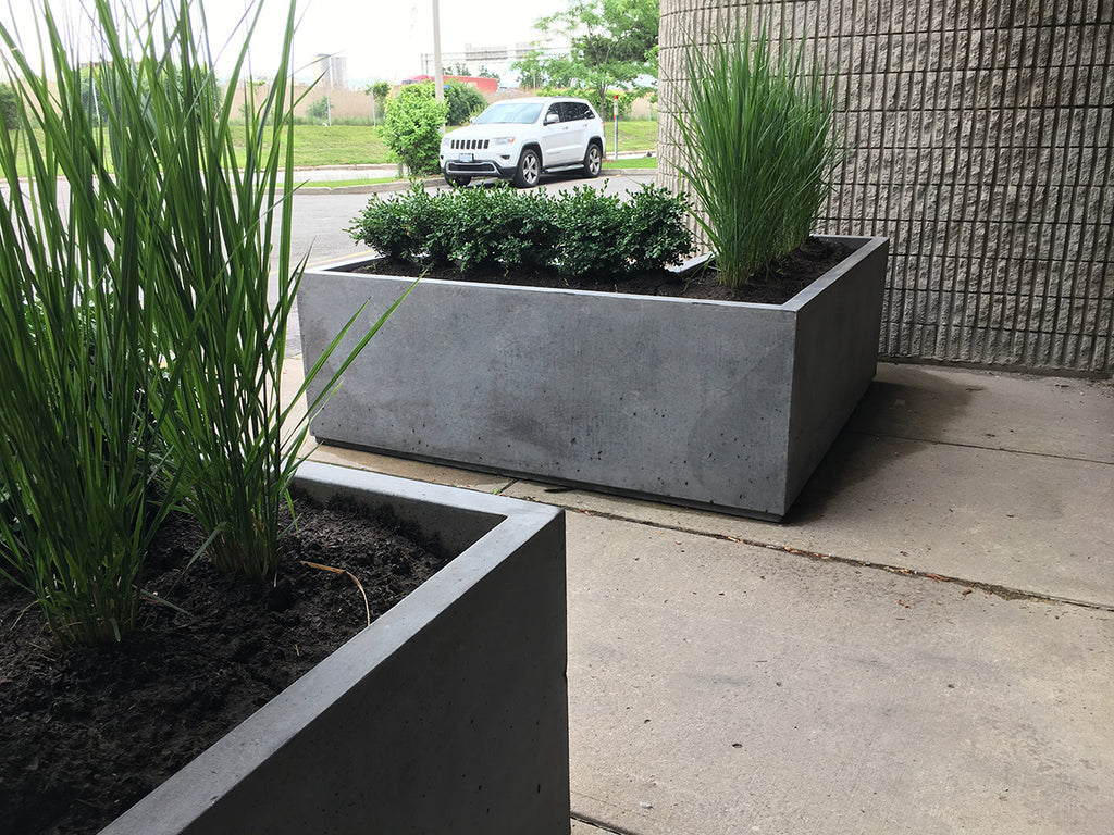 L-Shaped Series Planters