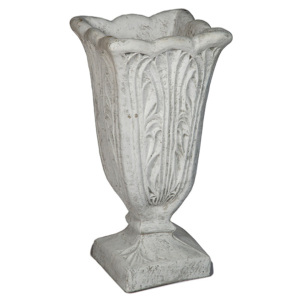 Tall Leaf Urn Square