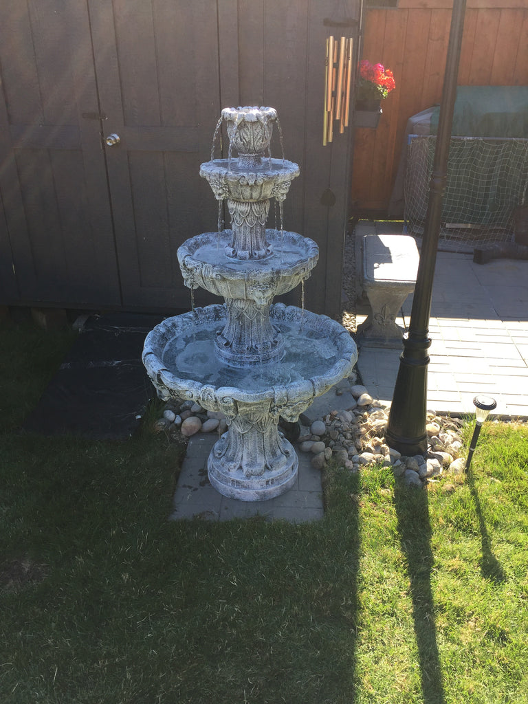 Photo of 3 Tier Lion Fountain  - Marquis Gardens