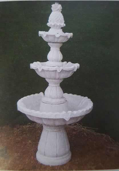 3 Tier Pineapple Fountain