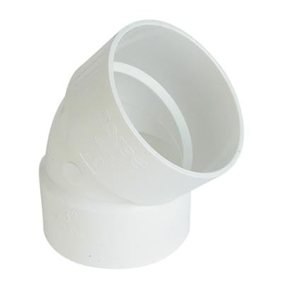 45 Socket Elbows PVC