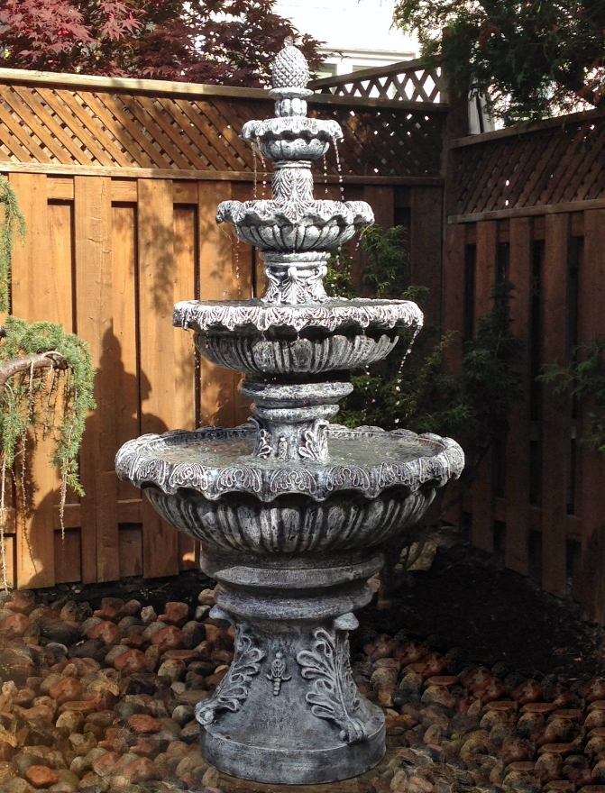 Photo of 4 Tier Fleur Fountain  - Marquis Gardens