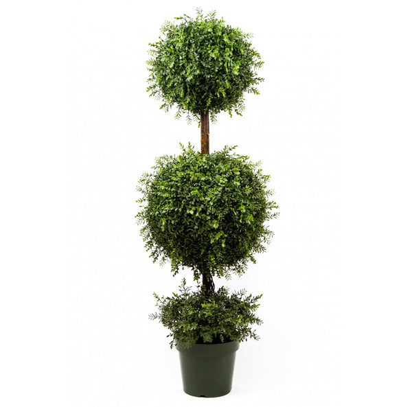 Tea Leaf Topiary With Two Ball, 58