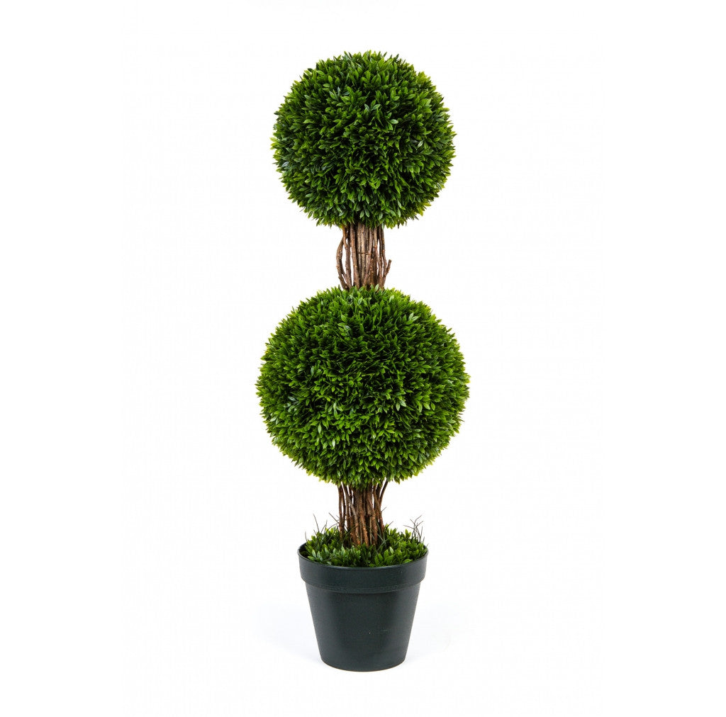 "Photo of Podocarpus Topiary With Two Ball, 36""  - Marquis Gardens"