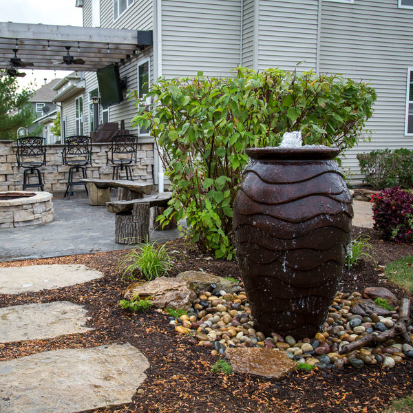 Photo of Aquascape Scalloped Urns - Marquis Gardens