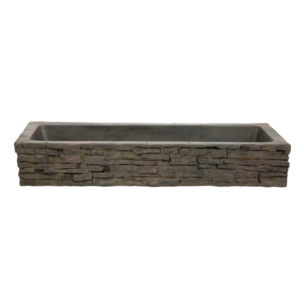 Aquascape Quad-Spill Straight Stacked Slate Topper - Marquis Gardens