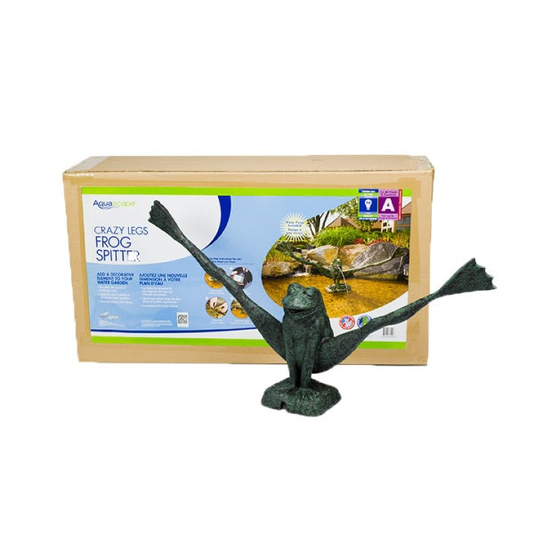 Aquascape Crazy Legs Frog Spitter