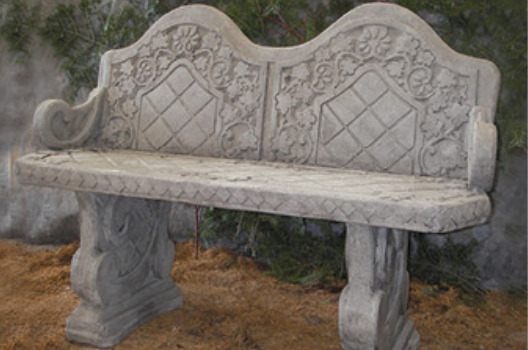 Bench with Back and Arm Rests