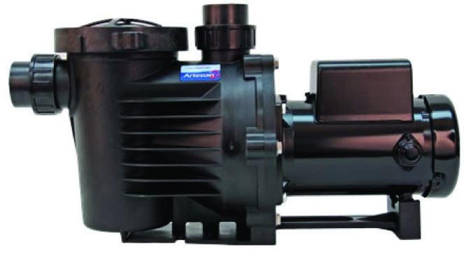 Photo of Artesian2 High Flow Pump, 3/4 HP, 8880 GPH  - Marquis Gardens