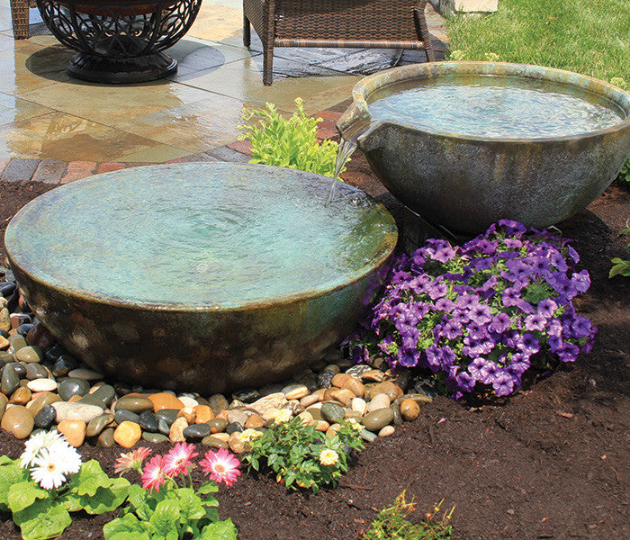 Photo of Aquascape Spillway Bowls - Marquis Gardens