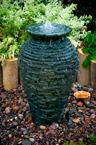 Aquascape Stacked Slate Urn - Small Kit