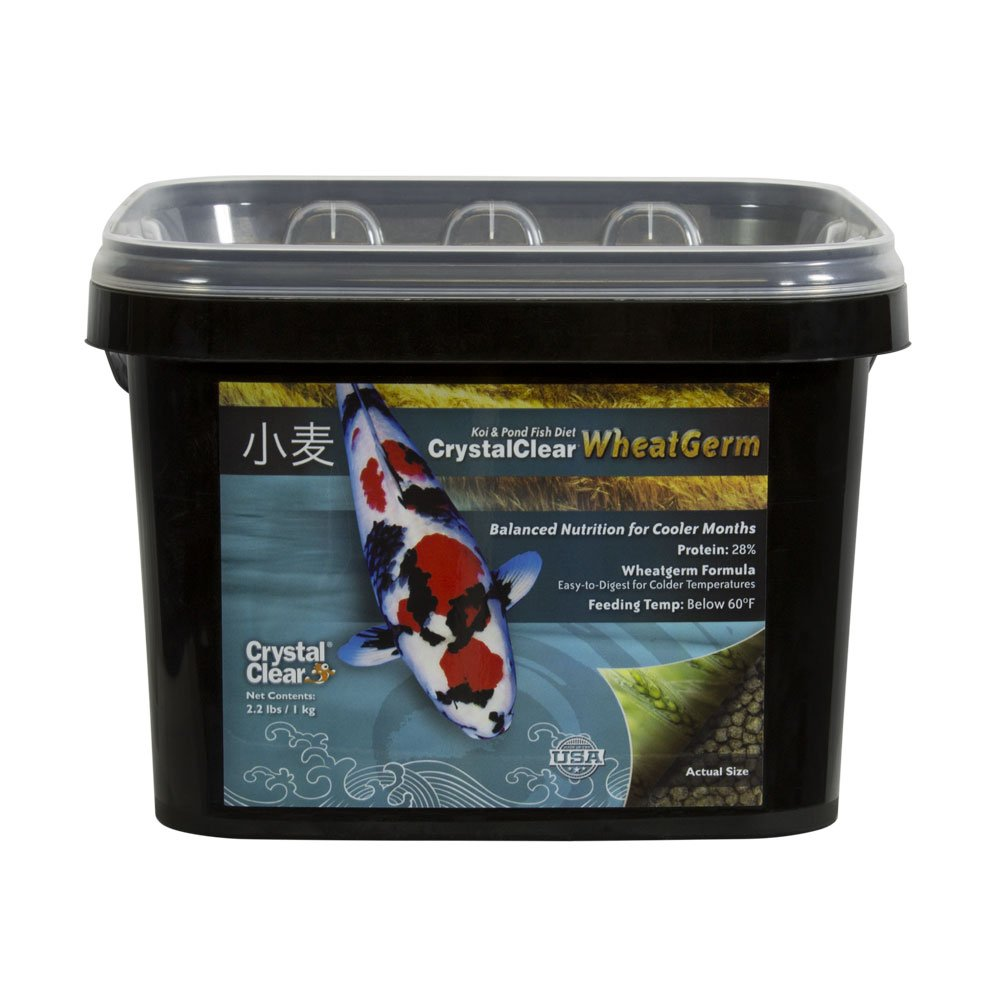 Photo of CrystalClear Wheatgerm Koi Food Standard Pellet - Marquis Gardens