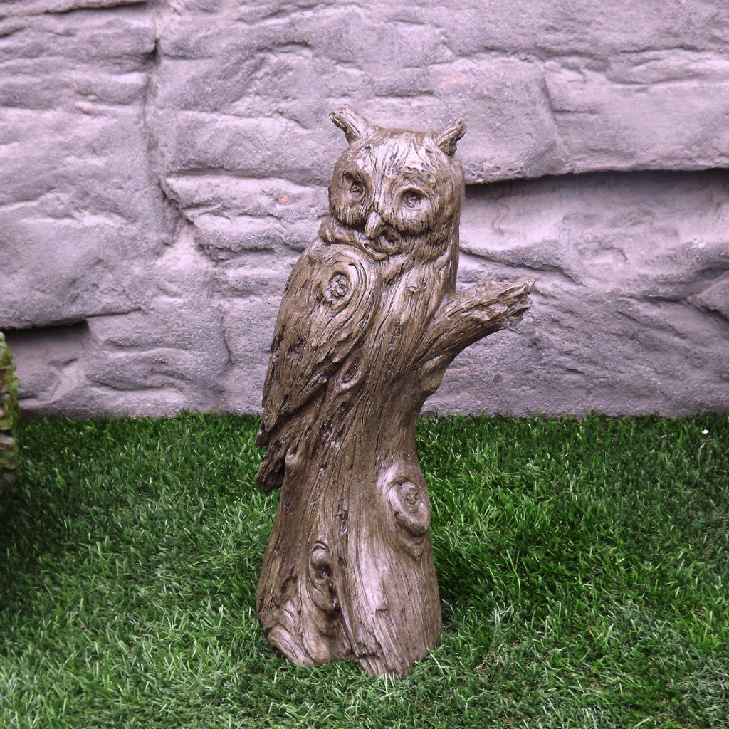 Photo of Woodlike Owl  - Marquis Gardens