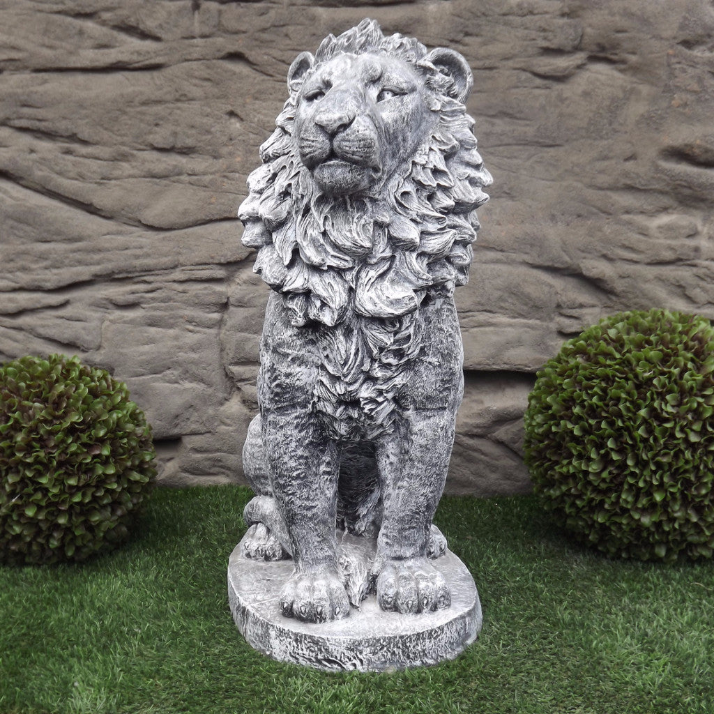 Photo of Sitting Lion - Large  - Marquis Gardens