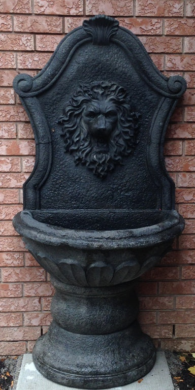 Photo of Lion Wall Fountain  - Marquis Gardens