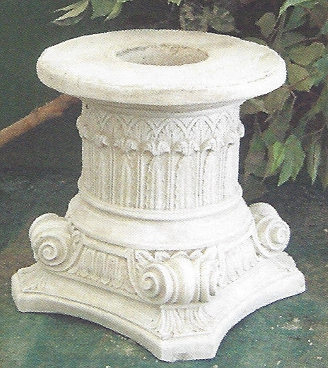 "Photo of Fountain Base 15.5""  - Marquis Gardens"