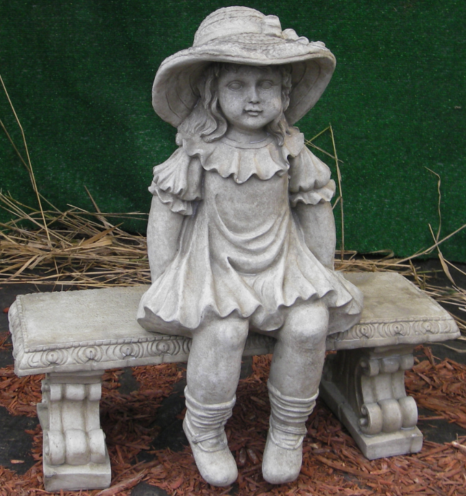Photo of Girl on Bench  - Marquis Gardens