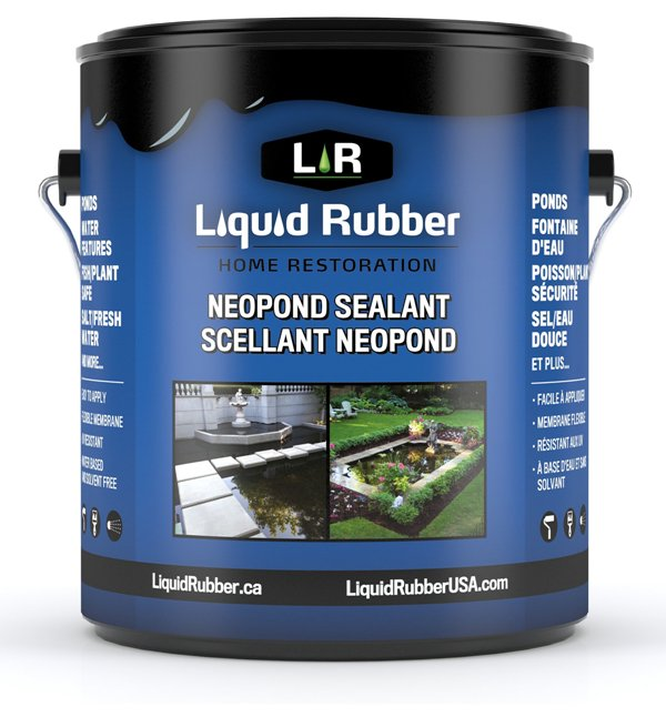 Liquid Rubber - Neoprene Pond Sealant