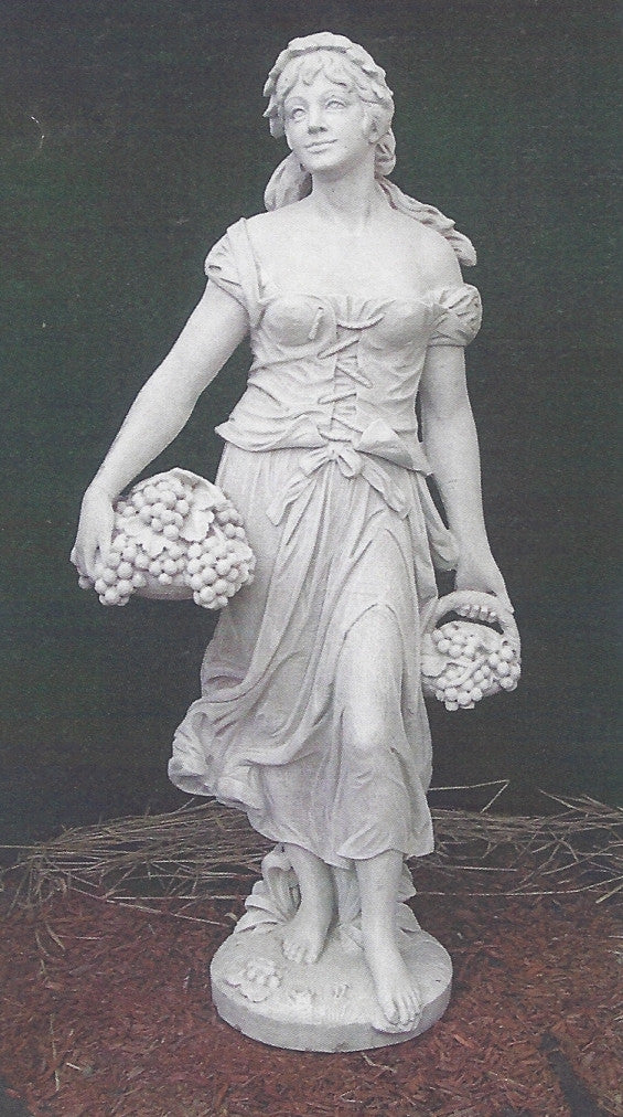 Photo of Lady With Grapes  - Marquis Gardens
