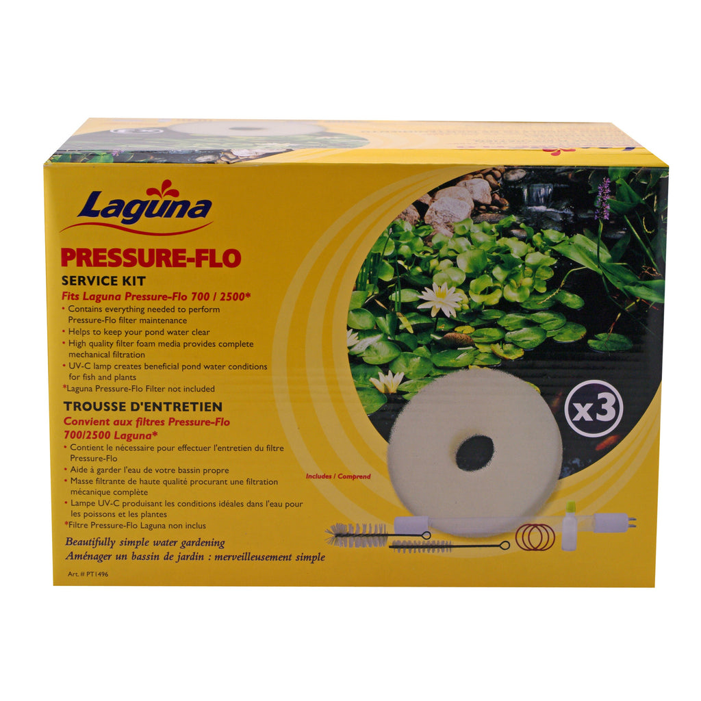 Photo of Laguna Pressure-Flo Service Kits for Pressure-Flo UVC Pressurized Pond Filters - Marquis Gardens