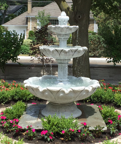 Large 3 Tier Leaf Fountain