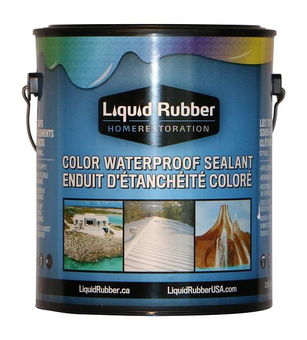 Liquid Rubber - Waterproof Color Sealant
