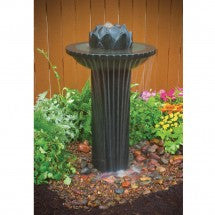Photo of Lotus Birdbath Fountain  - Marquis Gardens