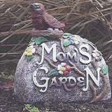 Photo of Mom's Rock with Bird  - Marquis Gardens