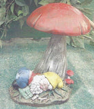 Photo of Mushroom with Dwarf  - Marquis Gardens