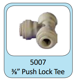 "Photo of ProEco Push Lock Tee 3/8""  - Marquis Gardens"