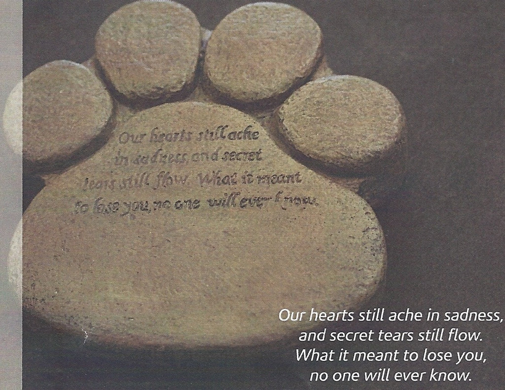Photo of Pet Memorial Paw Print  - Marquis Gardens