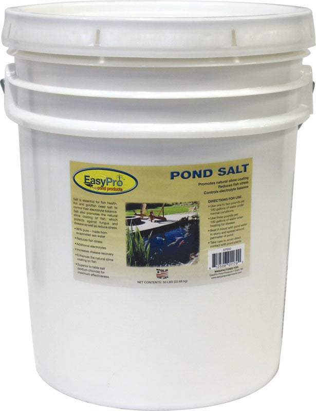 Photo of EasyPro Pond Salt - 50 lb Pail  - Marquis Gardens