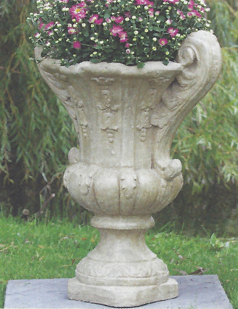 Photo of Leaf Pot with Handles  - Marquis Gardens