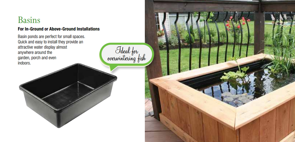 Photo of Laguna Rectangular Heavy Duty Black Plastic Basins - Marquis Gardens