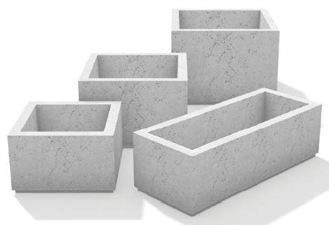 Photo of SQ Series Square Planters  - Marquis Gardens