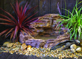 Photo of Small Waterfall Pond - SWP-008 by Universal Rocks  - Marquis Gardens