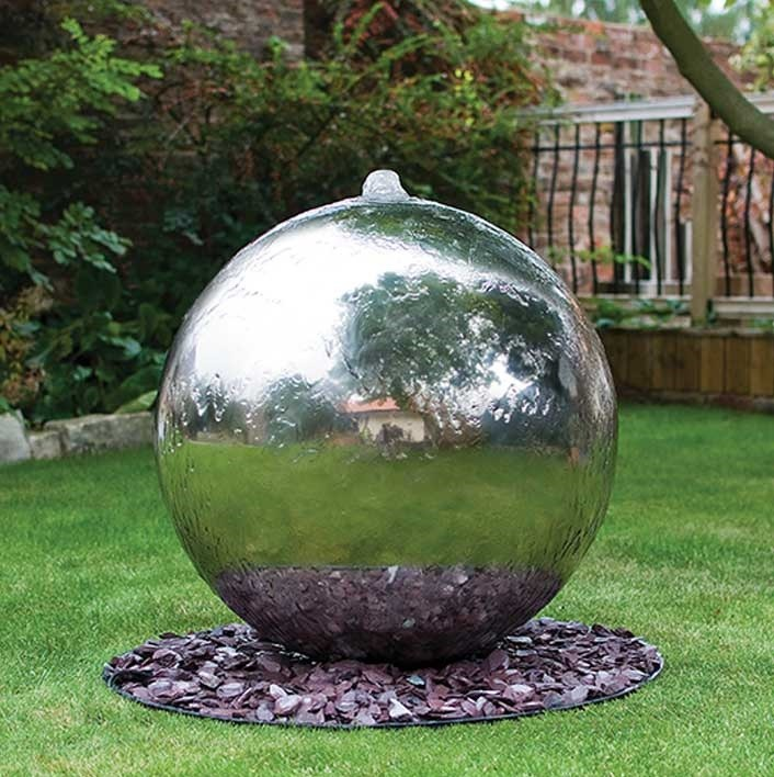 Stainless Steel Bubbling Spheres