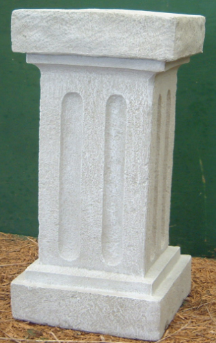 "Photo of Square Pedestal - 29""  - Marquis Gardens"
