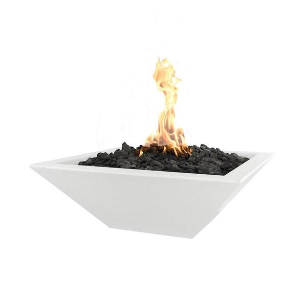 "Maya Square Fire Bowl 30""x12"""