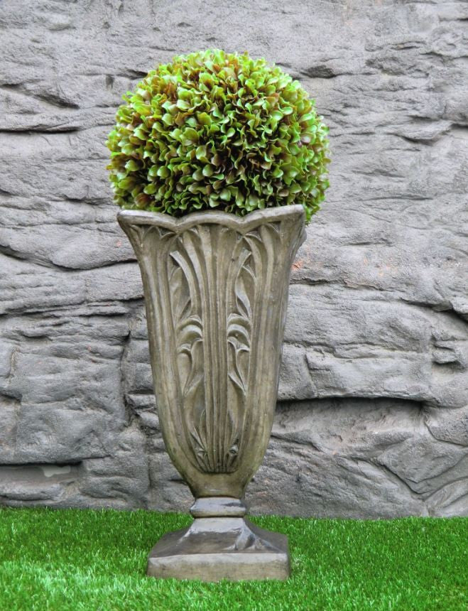 Photo of Tall Leaf Urn Square  - Marquis Gardens