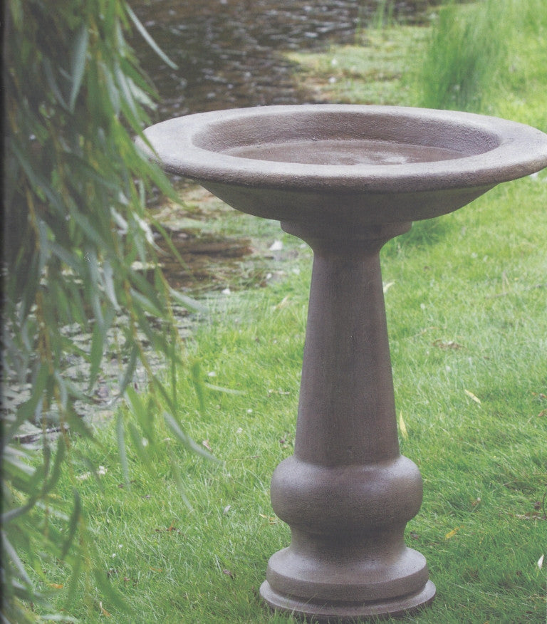 Photo of Textured Birdbath  - Marquis Gardens